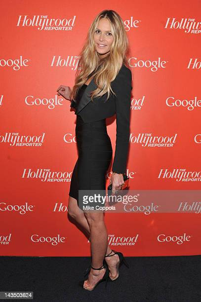 Actress model Elle Macpherson attends Google Hollywood Reporter Host an Evening Celebrating The White House Correspondents' Weekend on April 27 2012...