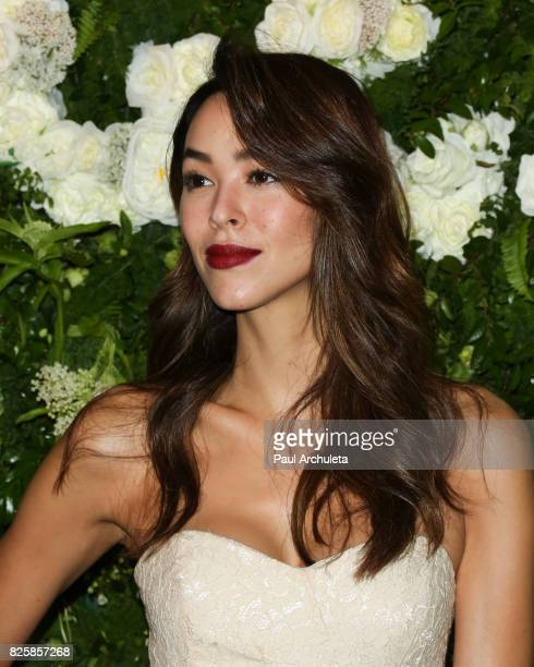 Actress / Model Emi Renata attends the Maison StGermain LA debut on August 2 2017 in Los Angeles California