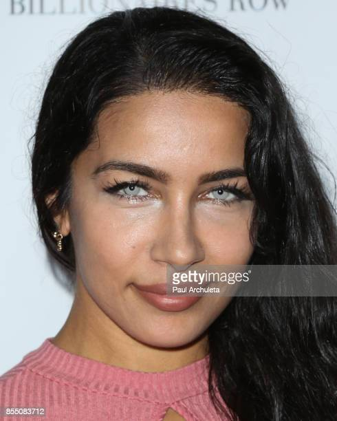 Actress / Model Ivy Natalia attends the launch of FENTY PUMA By Rihanna A/W 2017 Collection at Madison Beverly Hills on September 27 2017 in Beverly...