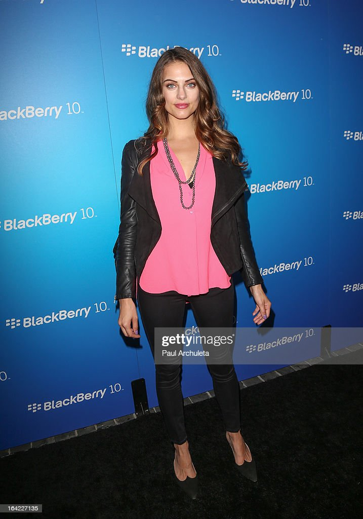 Actress / Model Julia Voth attends the BlackBerry Z10 Smartphone launch party at Cecconi's Restaurant on March 20, 2013 in Los Angeles, California.