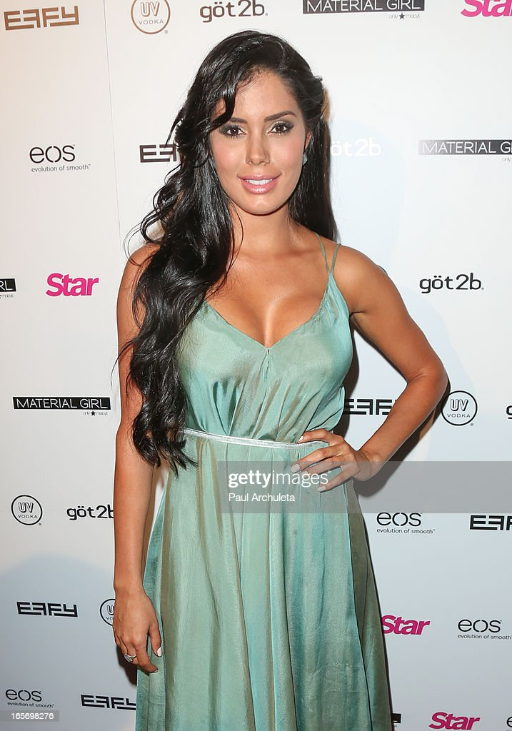 Actress / Model Laura Soares attends Star Magazine's 'Hollywood Rocks' party at Playhouse Hollywood on April 4, 2013 in Los Angeles, California.