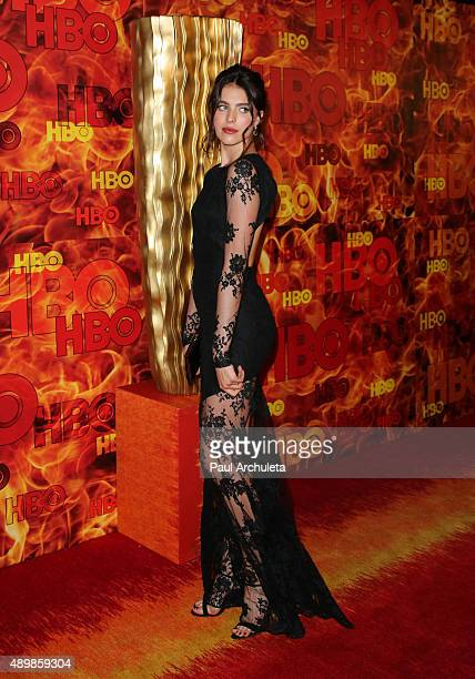 Actress / Model Margaret Qualley attends HBO's official 2015 Emmy After Party at The Plaza at the Pacific Design Center on September 20 2015 in Los...