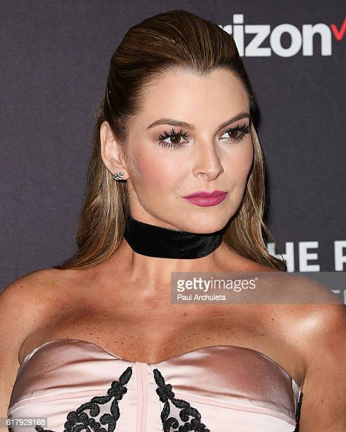 Actress / Model Marjorie de Sousa attends The Paley Center for Media's Hollywood tribute to Hispanic achievements in television at the Beverly...