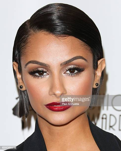 Actress / Model Nazanin Mandi attends the 3rd annual Cinefashion Film Awards at Saban Theatre on December 15 2016 in Beverly Hills California