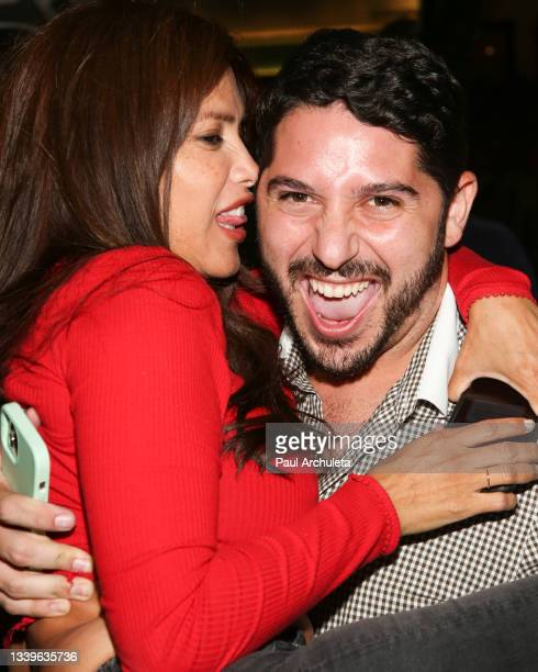 Actress / Model Rachel Sterling and Social Media Personality Nick Paris attend the Roosevelt Comedy Show at The Hollywood Roosevelt on September 10,...