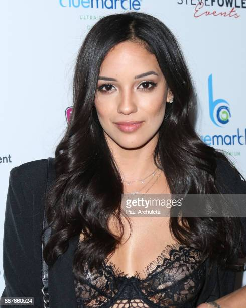 Actress / Model Sara Velez attends the 10th annual Babes In Toyland charity toy drive at Avalon on December 6 2017 in Hollywood California