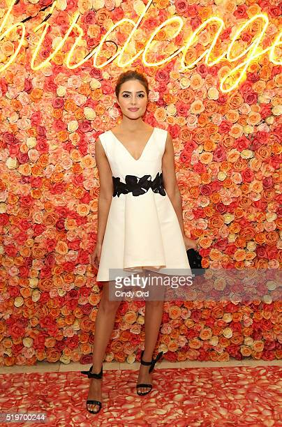 Actress model television presenter Olivia Culpo attends the Birdcage Spring Launch Event At Lord Taylor on April 7 2016 in New York City