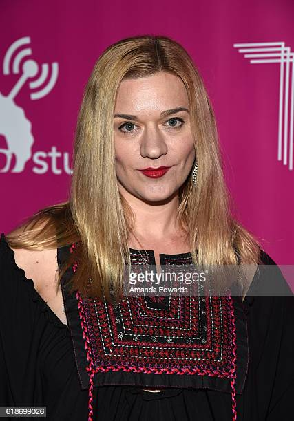Actress Moira Cue arrives at Storytellers United: The New Face of LGBTQ Youth in Entertainment at NeueHouse Hollywood on October 27, 2016 in Los...