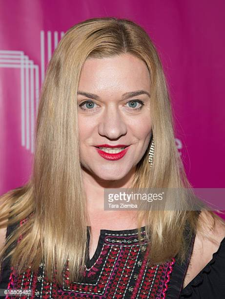 Actress Moira Cue arrives at Storytellers United The New Face of LGBTQ Youth in Entertainment at NeueHouse Hollywood on October 27 2016 in Los...