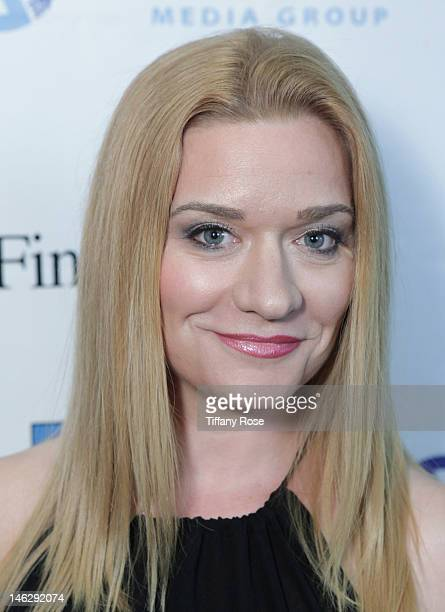 Actress Moira Cue attends the Los Angeles Premiere of 'Ray Bradbury's Kaleidoscope' at the New Media Film Festival at the Landmark Theatre on June 12...