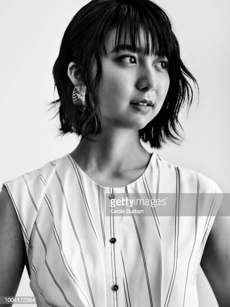 Actress Moka Kamishiraishi is photographed for Self Assignment on May 2018 in Cannes France