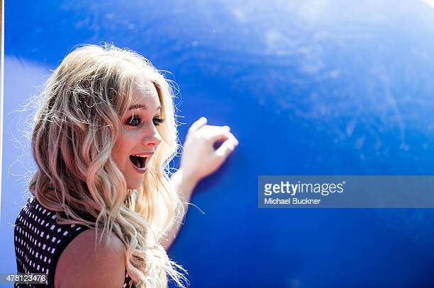 Actress Mollee Gray attends the premiere of Disney Channel's Teen Beach 2 at Walt Disney Studios on June 22 2015 in Burbank California
