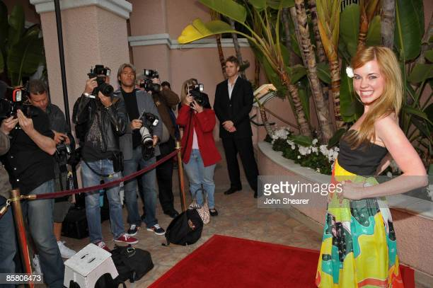 Actress Molly Burnett attends Smiles from the Stars: A Tribute to the Life and Work of Roy Scheider at The Beverly Hills Hotel on April 4, 2009 in...