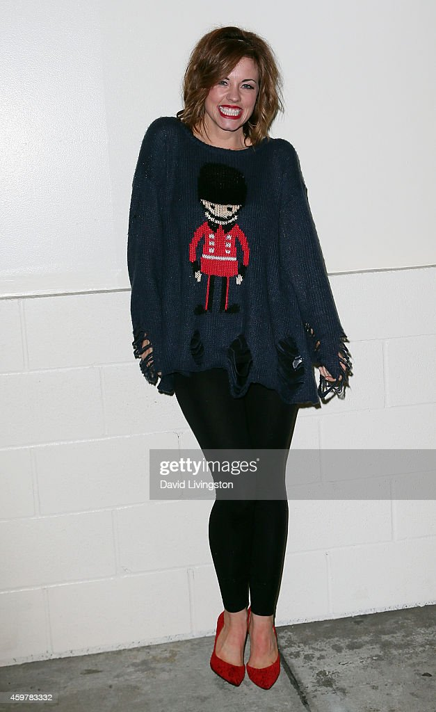 Actress Molly Burnett attends the 83rd Annual Hollywood Christmas Parade on November 30, 2014 in Hollywood, California.