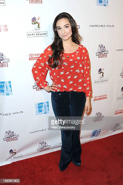 Actress Molly Ephraim attends the 2nd annual Hollywood Rush at The Wilshire Ebell Theatre on February 19 2012 in Los Angeles California