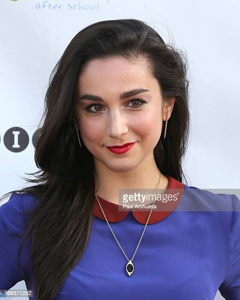 Actress Molly Ephraim attends the Woodcraft Rangers 90th anniversary celebration at LA Plaza de Cultura y Artes on May 8 2013 in Los Angeles...