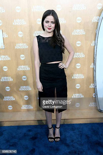 Actress Molly Gordon attends the premiere of TNT's Animal Kingdom at The Rose Room on June 8 2016 in Venice California