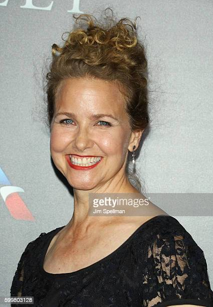 Actress Molly Hagan attends the Sully New York premiere at Alice Tully Hall Lincoln Center on September 6 2016 in New York City