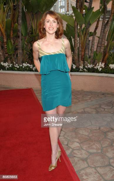 Actress Molly Kidder arrives at Smiles from the Stars: A Tribute to the Life and Work of Roy Scheider at The Beverly Hills Hotel on April 4, 2009 in...
