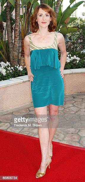 Actress Molly Kidder attends the Smiles from the Stars A Tribute to the Life and Work of actor Roy Scheider at the Beverly Hills Hotel on April 4...