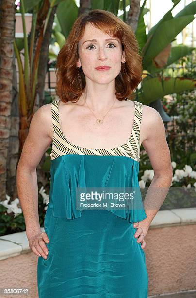 Actress Molly Kidder attends the Smiles from the Stars: A Tribute to the Life and Work of actor Roy Scheider at the Beverly Hills Hotel on April 4,...