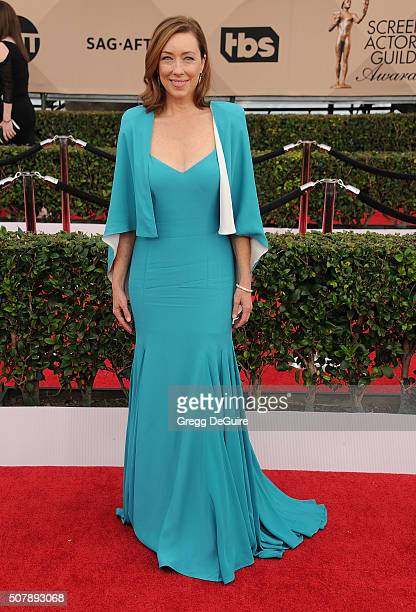 Actress Molly Parker arrives at the 22nd Annual Screen Actors Guild Awards at The Shrine Auditorium on January 30 2016 in Los Angeles California