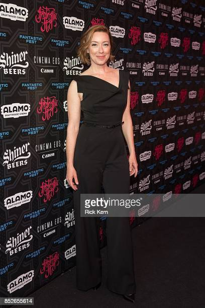 Actress Molly Parker at the Netflix Films '1922' Premiere at Fantastic Fest at the Alamo Drafthouse on September 23 2017 in Austin Texas