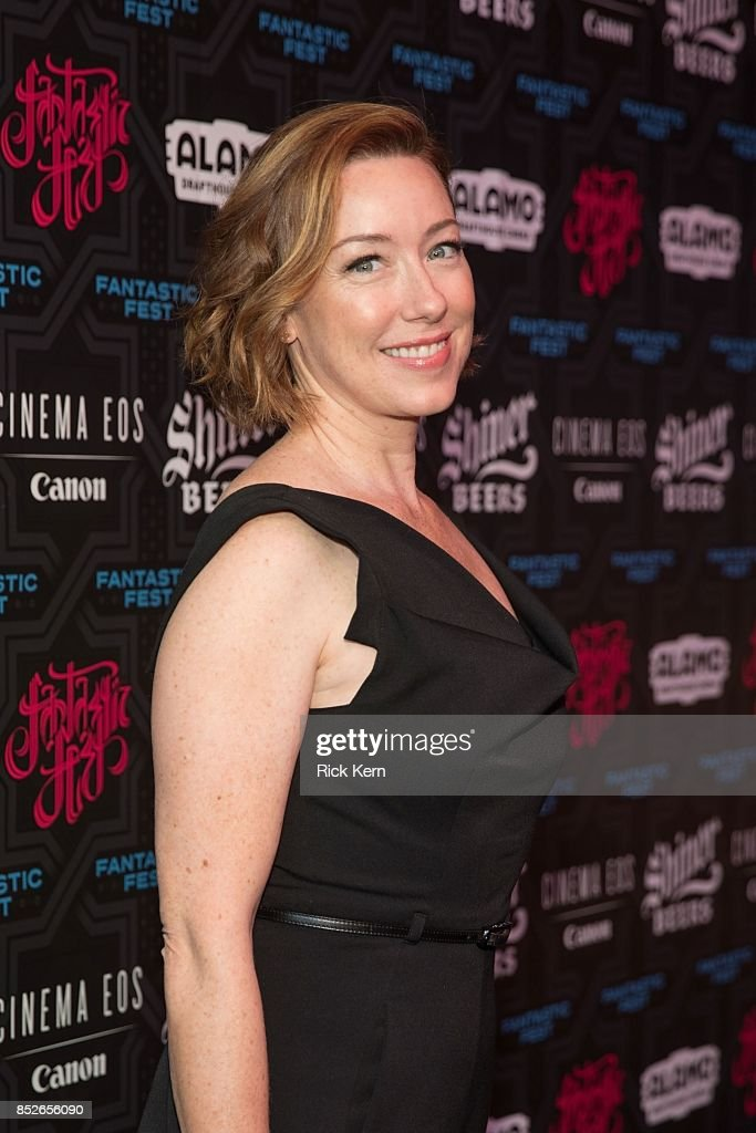 Actress Molly Parker at the Netflix Films '1922' Premiere at Fantastic Fest at the Alamo Drafthouse on September 23, 2017 in Austin, Texas.