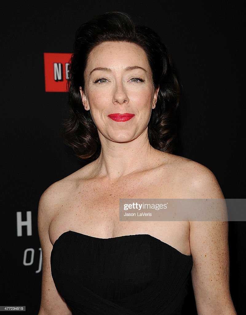 Actress Molly Parker attends a screening of 'House Of Cards' at Directors Guild Of America on February 13, 2014 in Los Angeles, California.