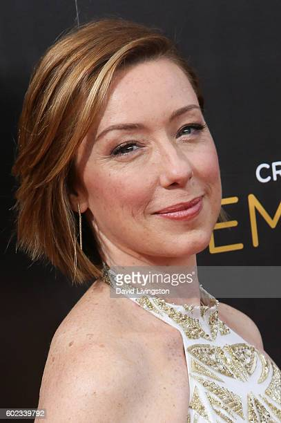 Actress Molly Parker attends the 2016 Creative Arts Emmy Awards Day 1 at the Microsoft Theater on September 10 2016 in Los Angeles California