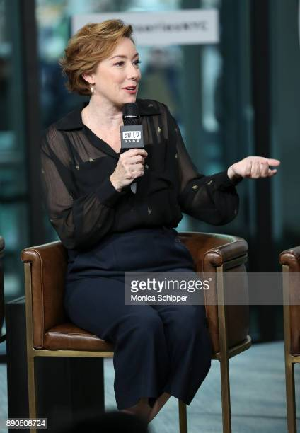 Actress Molly Parker discusses 'Wormwood' at Build Studio on December 11 2017 in New York City