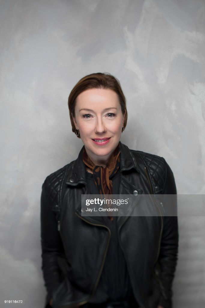 Actress Molly Parker, from the film 'Madeline's Madeline' is photographed for Los Angeles Times on January 22, 2018 in the L.A. Times Studio at Chase Sapphire on Main, during the Sundance Film Festival. PUBLISHED IMAGE.