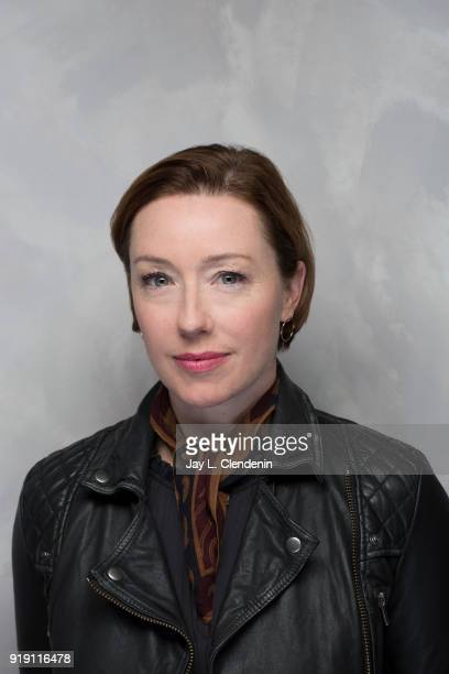 Actress Molly Parker from the film 'Madeline's Madeline' is photographed for Los Angeles Times on January 22 2018 in the LA Times Studio at Chase...
