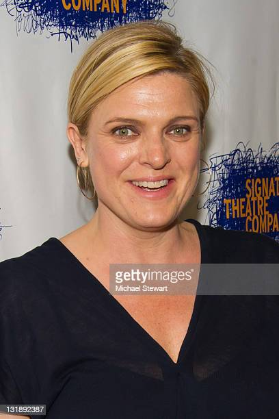Actress Molly Price attends the opening night party for Tony Kushner's The Illusion at the West Bank Cafe on June 5 2011 in New York City