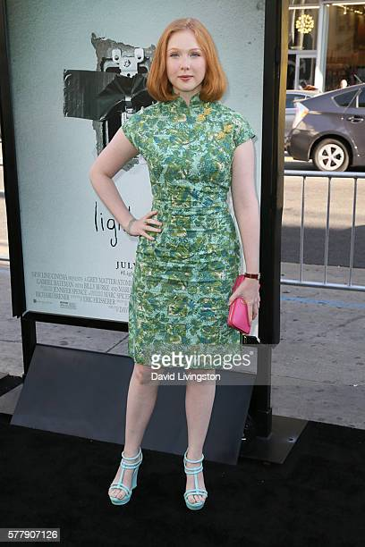Actress Molly Quinn arrives at the premiere of New Line Cinema's Lights Out at the TCL Chinese Theatre on July 19 2016 in Hollywood California