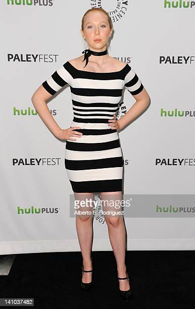 """Actress Molly Quinn arrives to The Paley Center for Media's PaleyFest 2012 honoring """"Castle"""" at Saban Theatre on March 9, 2012 in Beverly Hills,..."""
