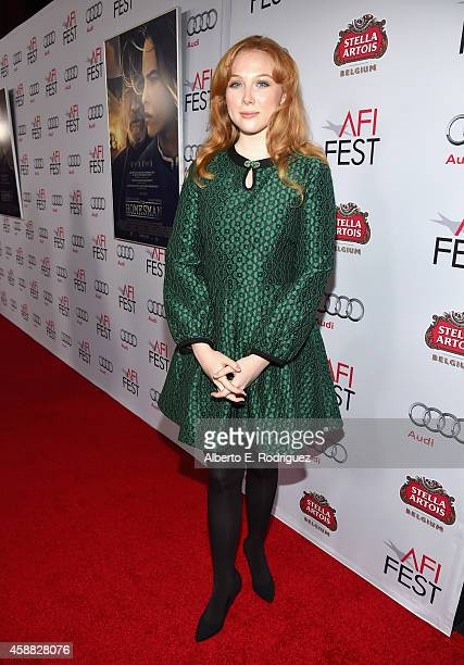 Actress Molly Quinn attends the screening of The Homesman during AFI FEST 2014 presented by Audi at Dolby Theatre on November 11 2014 in Hollywood...