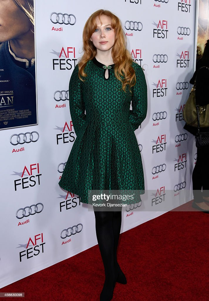 "AFI FEST 2014 Presented By Audi Gala Screening Of ""The Homesman"" - Red Carpet"