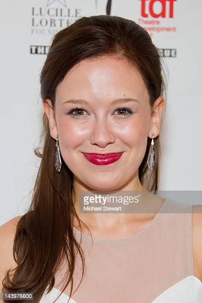 Actress Molly Ranson attends the 27th annual Lucille Lortel Awards at the NYU Skirball Center on May 6 2012 in New York City