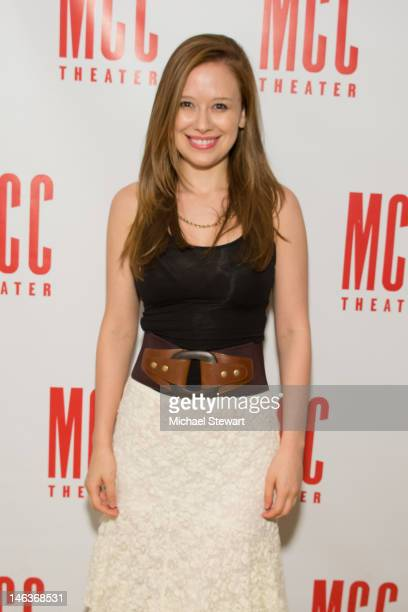 Actress Molly Ranson attends the Heart Of The Matter Celebration at Ramscale on June 14 2012 in New York City