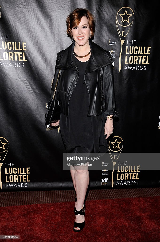 Actress Molly Ringwald arrives at the 31st Annual Lucille Lortel Awards at NYU Skirball Center on May 1, 2016 in New York City.