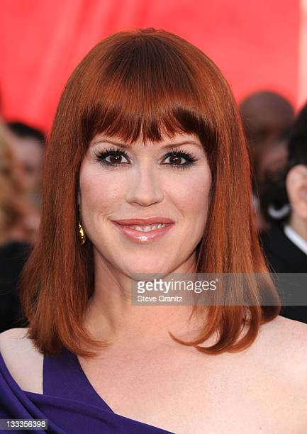 Actress Molly Ringwald arrives at the 82nd Annual Academy Awards held at the Kodak Theatre on March 7 2010 in Hollywood California
