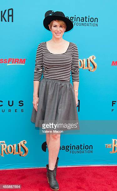 """Actress Molly Ringwald arrives at the premiere of Premiere Of Focus Features' """"The Boxtrolls"""" at Universal CityWalk on September 21, 2014 in..."""