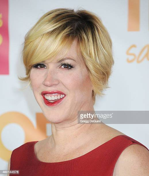 Actress Molly Ringwald arrives at TrevorLIVE Los Angeles at Hollywood Palladium on December 7 2014 in Los Angeles California