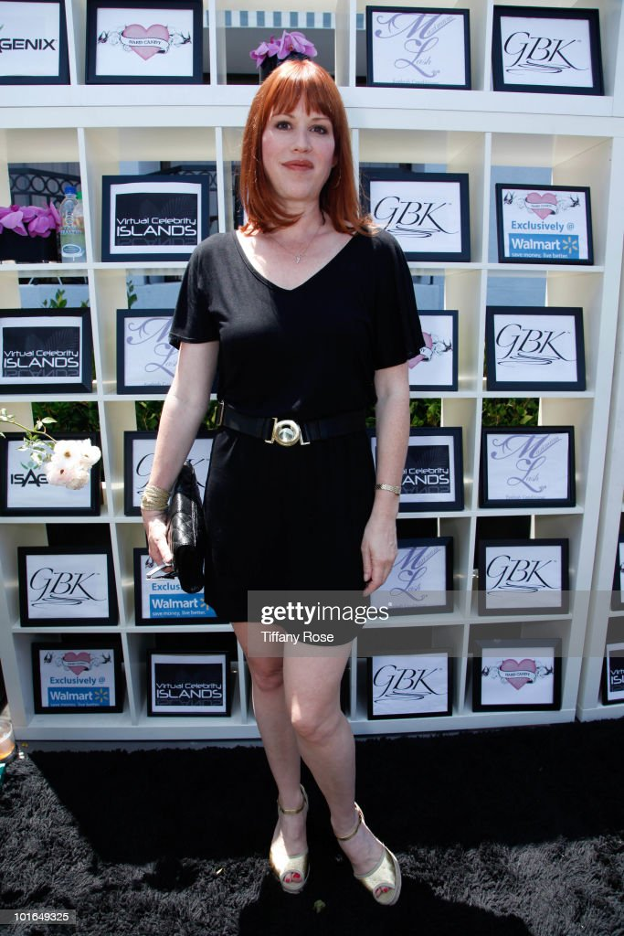 Actress Molly Ringwald attends GBK's Gift Lounge in Honor of the 2010 MTV Movie Awards - Day 2 at The London Hotel on June 5, 2010 in West Hollywood, California.