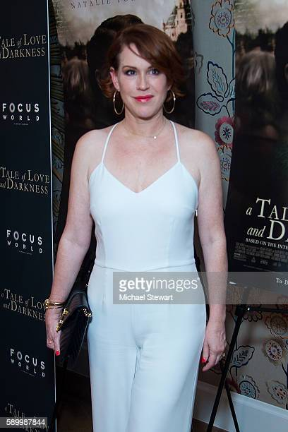 Actress Molly Ringwald attends the A Tale Of Love Darkness New York premiere at Crosby Street Hotel on August 15 2016 in New York City