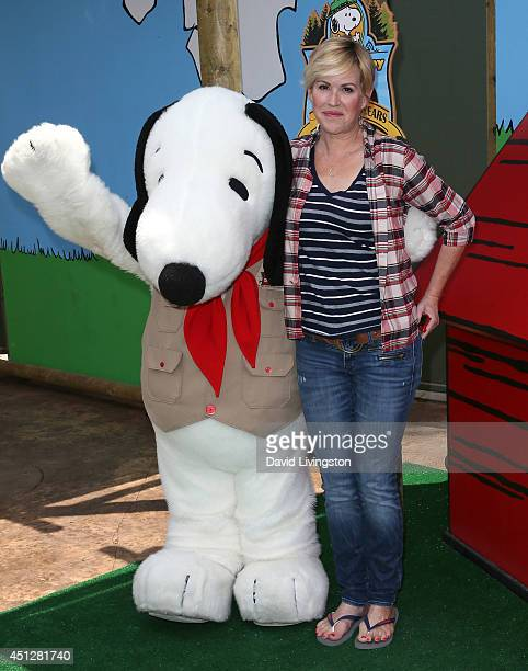 Actress Molly Ringwald attends the Camp Snoopy's 30th Anniversary VIP Party at Knott's Berry Farm on June 26 2014 in Buena Park California