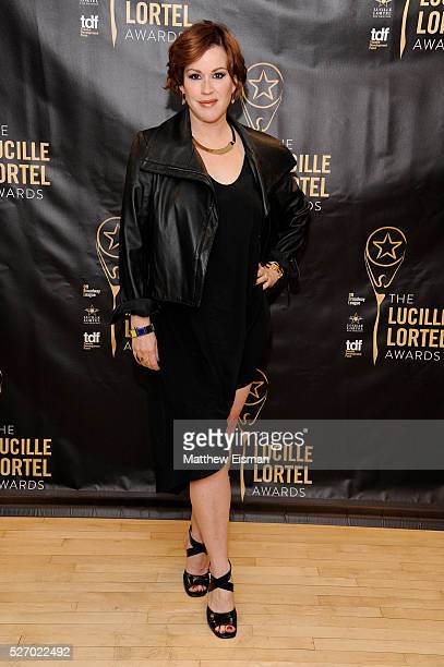 Actress Molly Ringwald attends the press room for the 31st Annual Lucille Lortel Awards at NYU Skirball Center on May 1 2016 in New York City