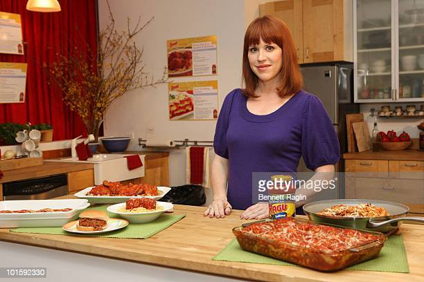 Actress Molly Ringwald attends the Ragu recipe for a good start program kick off at the 24th Street Loft on March 9 2010 in New York City