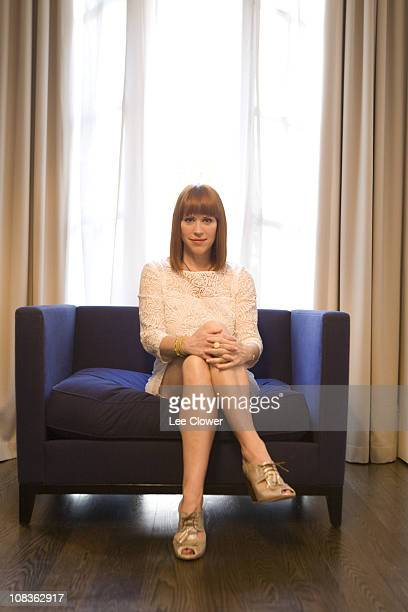 Actress Molly Ringwald poses for a portrait for the New York Times in New York City in April 2010